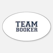 Team Booker Sticker (Oval)