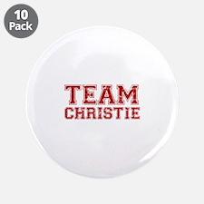 """Team Christie 3.5"""" Button (10 pack)"""