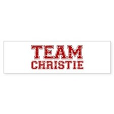 Team Christie Bumper Sticker