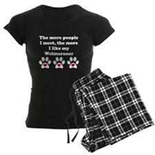 My Weimaraner pajamas