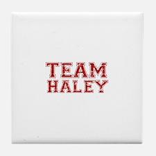 Team Haley Tile Coaster