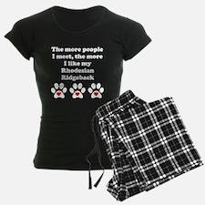 My Rhodesian Ridgeback pajamas