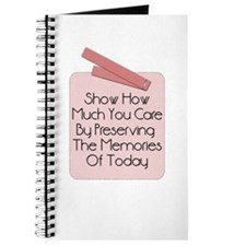 Show How Much You Care Scrapper's Journal