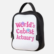 World's Cutest Actuary Neoprene Lunch Bag