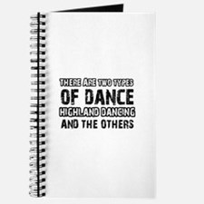 Highland Dancing designs Journal
