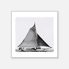 Chesapeake Bay Skipjack Oyster Boat Sticker