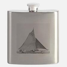 Chesapeake Bay Skipjack Oyster Boat Flask