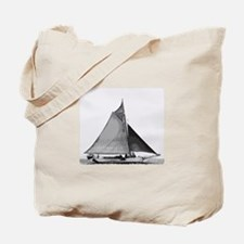 Chesapeake Bay Skipjack Oyster Boat Tote Bag