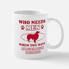 Australian Shepherd mommy designs Mug