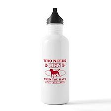Bay Retriever mommy designs Sports Water Bottle