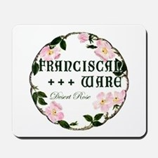 Franciscan Desert Rose Mousepad