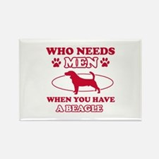 Beagle mommy designs Rectangle Magnet (10 pack)