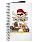 Pirate Day Icons Journal