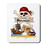 Pirate Day Icons Mousepad