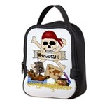 Pirate Day Icons Neoprene Lunch Bag