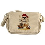 Pirate Day Icons Messenger Bag