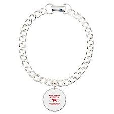 Beauceron mommy designs Bracelet