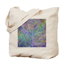 Heart of Light Abstract Tote Bag
