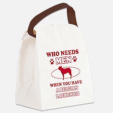 Belgian Laekenois mommy designs Canvas Lunch Bag