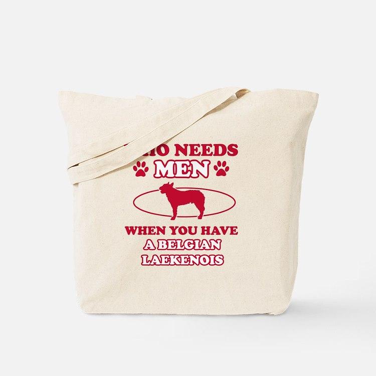 Belgian Laekenois mommy designs Tote Bag