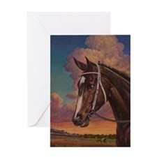 Rachel Alexandra Greeting Card