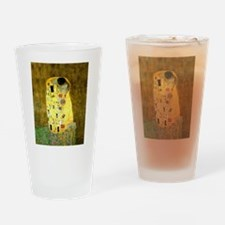 The Kiss Gustav Klimt Drinking Glass