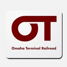 Omaha Terminal Modern Logo Mousepad