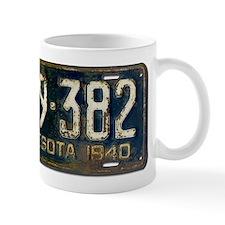 1940 Minnesota License Plate Mug