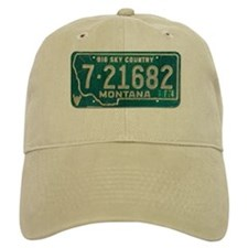 1974 Montana License Plate Baseball Cap