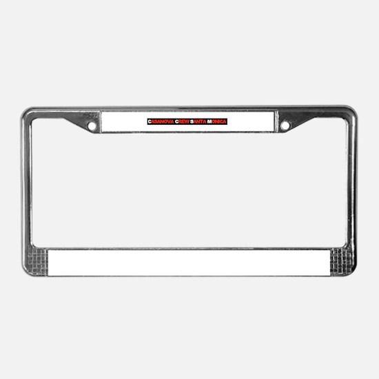 CCSM 2 License Plate Frame