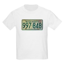 Massachusetts license plate T-Shirt