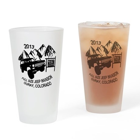 Ouray FSJ Invasion 2013 Drinking Glass