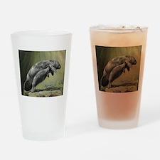 Manatee Sea Cow Drinking Glass
