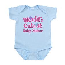 World's Cutest Baby Sister Infant Bodysuit