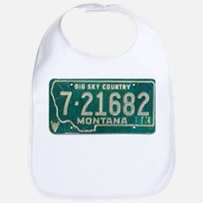 1974 Montana License Plate Bib