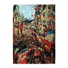 French Flags by Monet 5'x7'Area Rug