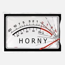 Horny-meter Pillow Case