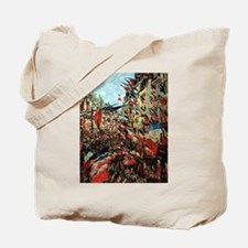 French Flags by Monet Tote Bag