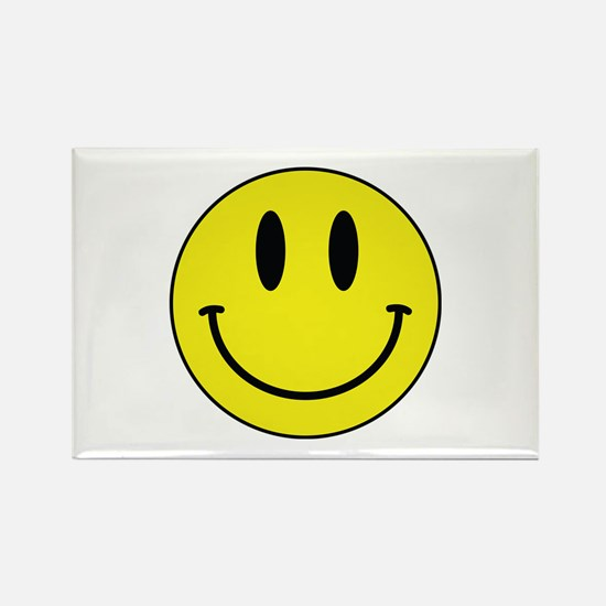 Keep Calm And Be Happy Rectangle Magnet