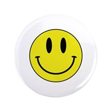 """Keep Calm And Be Happy 3.5"""" Button (100 pack)"""