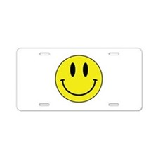 Keep Calm And Be Happy Aluminum License Plate