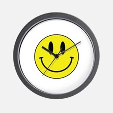 Keep Calm And Be Happy Wall Clock