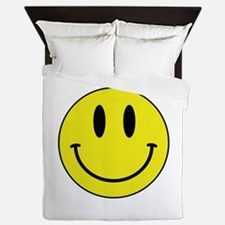 Keep Calm And Be Happy Queen Duvet