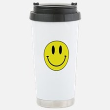Keep Calm And Be Happy Stainless Steel Travel Mug