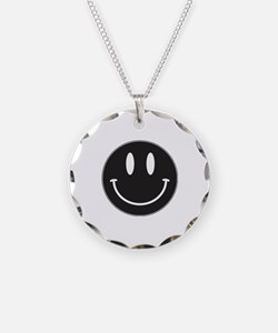 Keep Calm And Be Happy Necklace
