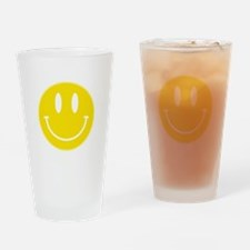 Keep Calm And Be Happy Drinking Glass