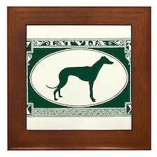 Antique 1932 Latvia Greyhound Faux Postage Stamp F