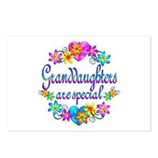 Granddaughters are Special Postcards (Package of 8