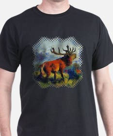 surreal-elk-t-shirt T-Shirt