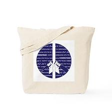 I Choose Peace Tote Bag